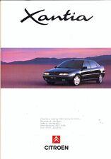 CITROEN Xantia 1993 UK market Sales Brochure