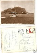 PALERMO 1941 MONTE PELLEGRINO E IDROVOLANTE ATTERRA