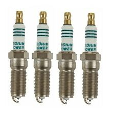 For Ford Flex Lincoln MKT MKZ Buick Enclave Set Of 4 Spark Plug Denso Iridium