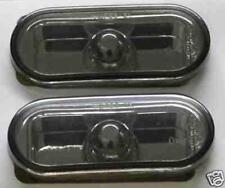 VW Passat B5 B5.5 96-03 Black Smoked Mirror Side Repeaters 1 Pair inc bulbs