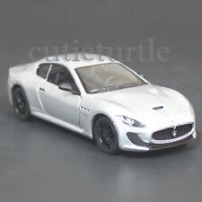 Kinsmart Maserati Gran Turismo MC Stradale 1:38 Diecast Toy Car Silver