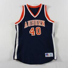 Game Worn Auburn Tigers Basketball Jersey 40 Medium Vintage #40 Jeff Moore 1980s