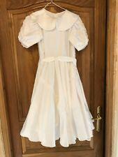 Magnifique robe enfant communion ou mariage avec accessoires Très Bon Etat