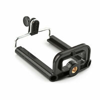 Smartphone Holder Clip Mount Braket For Tripod With 1/4 Inch Screw Selfie Stick