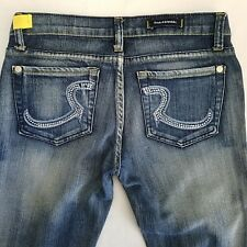 Rock Republic Jeans Tag 27 Actual 30 x 31 Crystal Roth Boot Cut 9051 Addict Wash