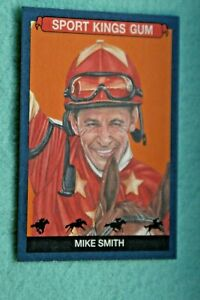 MIKE SMITH  2021 SPORTKINGS BLUE VARIATION #66 HORSE RACING