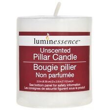 Luminessence Fresh Scented Pillar Candle Relaxing Atmosphere Candles *You Choose
