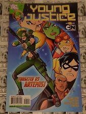 Young Justice (2011) DC - #7, 1st Animated Artemis, Scarce, Weisman/Jones, FN
