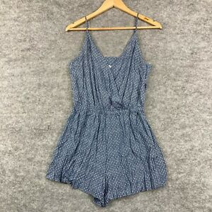 Seafolly Womens Playsuit Size S Small Blue Sleeveless Rayon 194.01