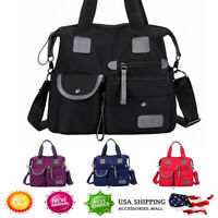 Women Anti-theft Backpack Oxford School Travel Waterproof Satchel Shoulder Bag