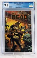 Walking Dead Deluxe #1 Gold Foil Logo Edition | 1 Per Store | CGC 9.8 NM/MT