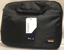 "NWT Black Targus Meridian 12"" Carrying Case ONT333US-04"