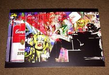 MR BRAINWASH ART SHOW EVENT CARD Andy Warhol Campbell's Soup Starbucks RARE!