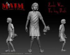 Zombie-Niña/1:35 escala figura impreso 3D Kit de mutilar