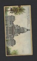 1889 Allen & Ginter N14 General Government & State Capital Capitol of Illinois