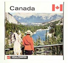 vintage GAF View Master CANADA foreign MADE IN BELGIUM reel NORTH AMERICA A099 !