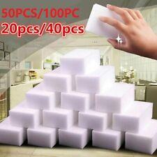 100/50/20X Magic Sponge Eraser Kitchen Cleaning Melamine Foam Cleaner Tools USA