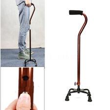 Walking Cane Stick Mobility Quad Cane Trekking Pole Walking Stick Adjusted