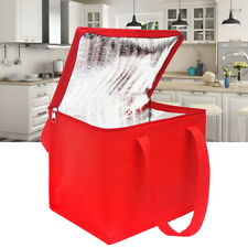 Large capacity Insulated Food Delivery Bag/Pan Carriers Foldable Box