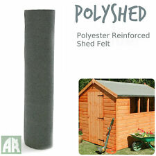 Poly Shed Roofing Felt | Green Mineral Shed Felt | Polyester Reinforced | 15m