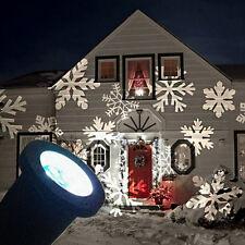 Waterproof Outdoor Christmas Lights Laser Projector Moving Lights Snow AU Plug