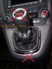 Fits Honda Cr-v CRV 2006 Genuine Leather Gear GAITER Boot Cover
