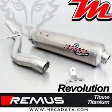 Silencieux Pot échappement Remus Revolution Titane BMW R 850 R 1999