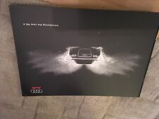 AUDI RS4 QUATTRO BROCHURE 2005.      SALOON ONLY