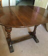 Victorian Antique small twist top drop leaf table