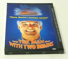 THE MAN WITH TWO BRAINS 1983 DVD Snapcase NEW SEALED VG Steve Martin Carl Reiner