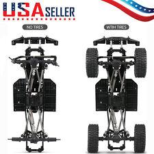 Austar 313mm Wheelbase Car Frame W/Tries For 1/10 Axial Scx10 Ii Rc Crawler Y2N8