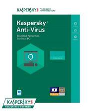 Kaspersky Anti-Virus 2019 - 3 PC / 1-Year - CD - Region: North America