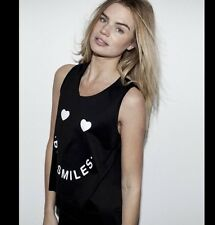 BNWT ZOE KARSSEN Women's Big Smiles Tank Top Size M RRP £83