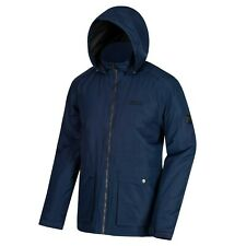Mens Waterproof Padded Jacket Camping Hiking Outdoor Work Hooded Raincoat Hebson