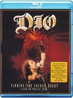 DIO - FINDING THE SACRED HEART-LIVE IN PHILLY 1986  BLU-RAY HEAVY METAL NEU