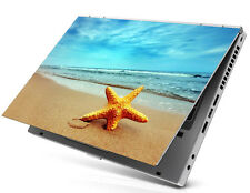 """17"""" Laptop Notebook Skin Sticker Cover Decal Star Fish Lenovo Dell HP Asus Acer"""