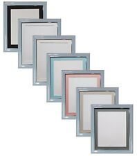 Soda Blue Photo Picture Frames & a choice of Black, White or Ivory Mounts