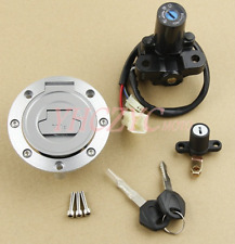 Ignition Switch Gas Cap Cover Seat Lock Key Set for Yamaha FJ09 FZ09 FZ07 FZ6R