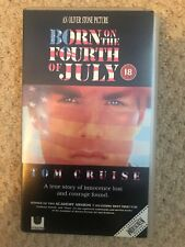 Born On The 4th Of July Widescreen VHS