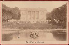 VERSAILLES TRIANON format CABINET 15 X 10 cm Ca 1890
