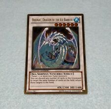 Yugioh Brionac Dragon of the Ice Barrier GLD5 Gold Rare Card NM