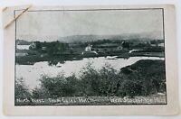 Vintage West Stockbridge Massachusetts MA RPPC North West from Coles Hill 1917