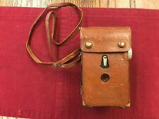 Vintage Kodak Reflex Camera, with Case and Strap