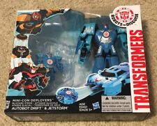 TRANSFORMERS ROBOTS IN DISGUISE: MINI-CON DEPLOYERS DRIFT & JETSTORM