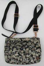 Lululemon Hip To Be Free Mystic Jungle Butter Pink Black Cross Body Bag Purse
