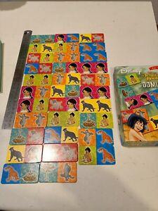 Ravensburger rare Disney Jungle Book 2 dominoes 2003 complete matching game EUC