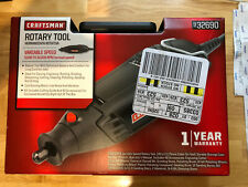 Craftsman Corded Variable Speed Rotary Tool Kit w/ 40 Accessories & Case