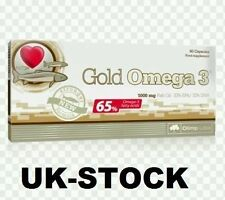 OLIMP GOLD OMEGA 3 60 caps 1000mg Fish Oil - 33% EPA & 22% DHA UK STOCK