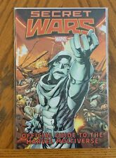 Secret Wars Official Guide to the Marvel Multiverse 2015 NM+