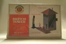 Bachmann Plasticville HO Scale Switch Tower Building Kit, New